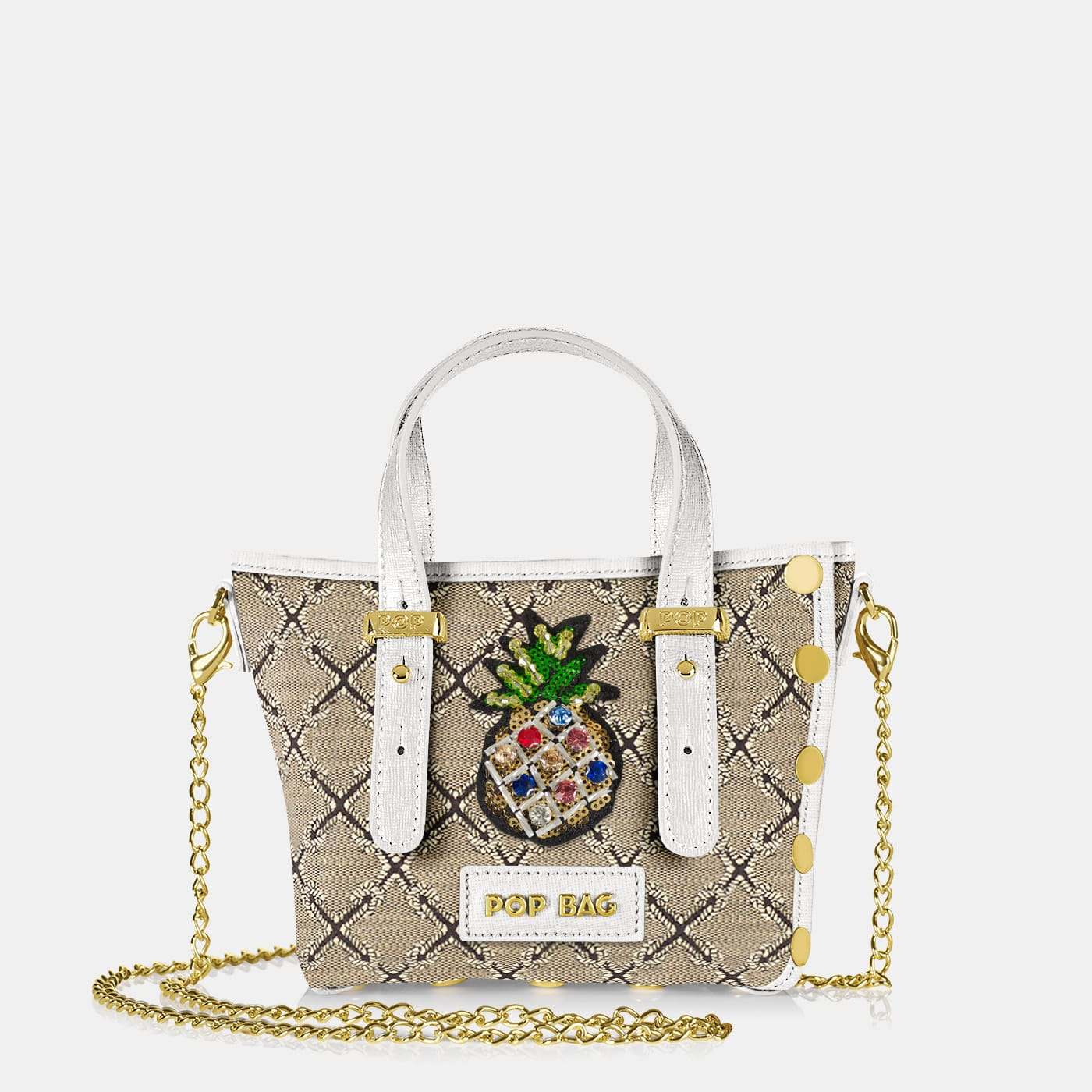 Pop Frida Mini Bag - White