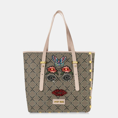 Frida Jacquard Tote Bag Pop Bag USA