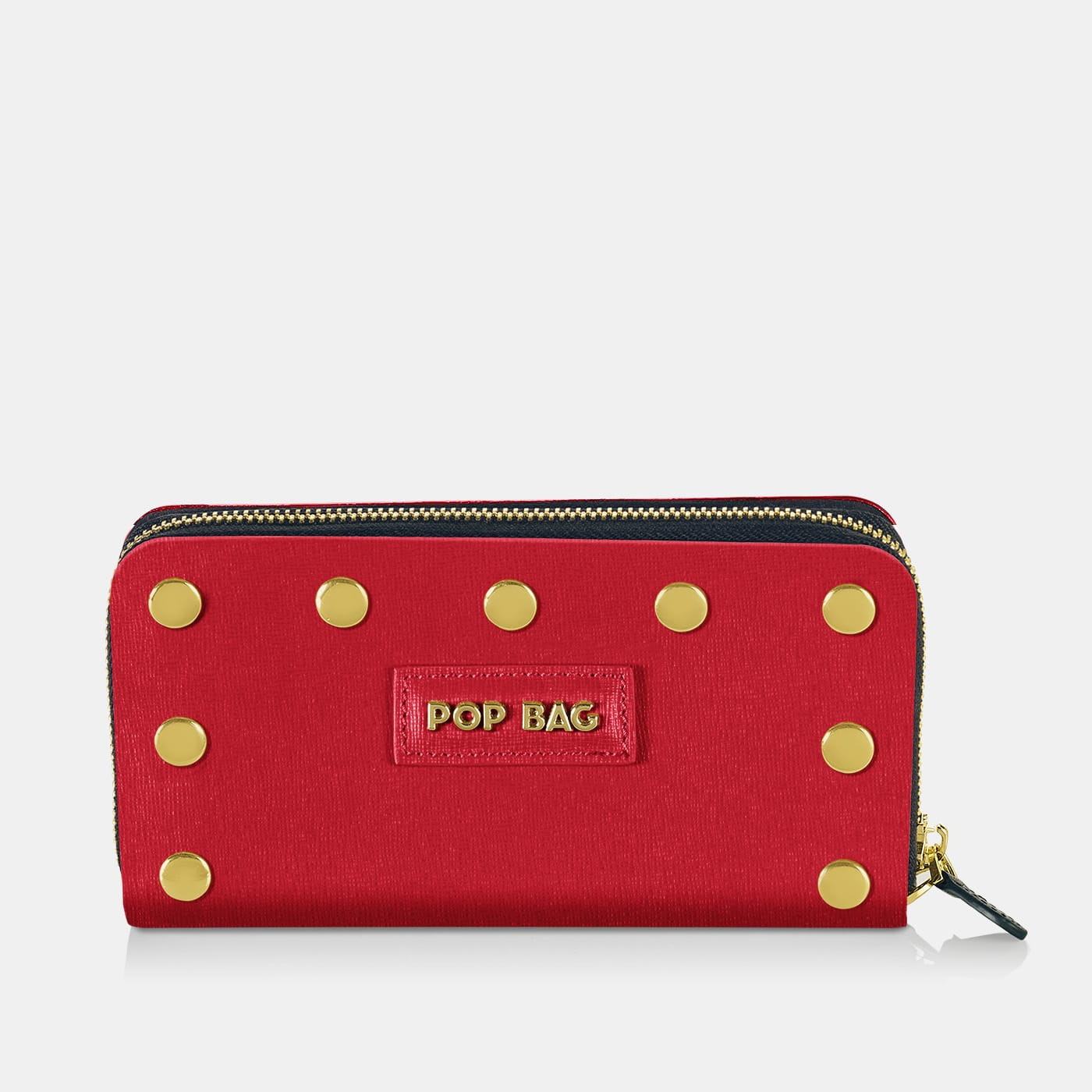 Pop Saffy Wallet Cover - Red - On Wallet