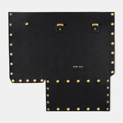 Pop Saffy Front Panel - Black - Medium