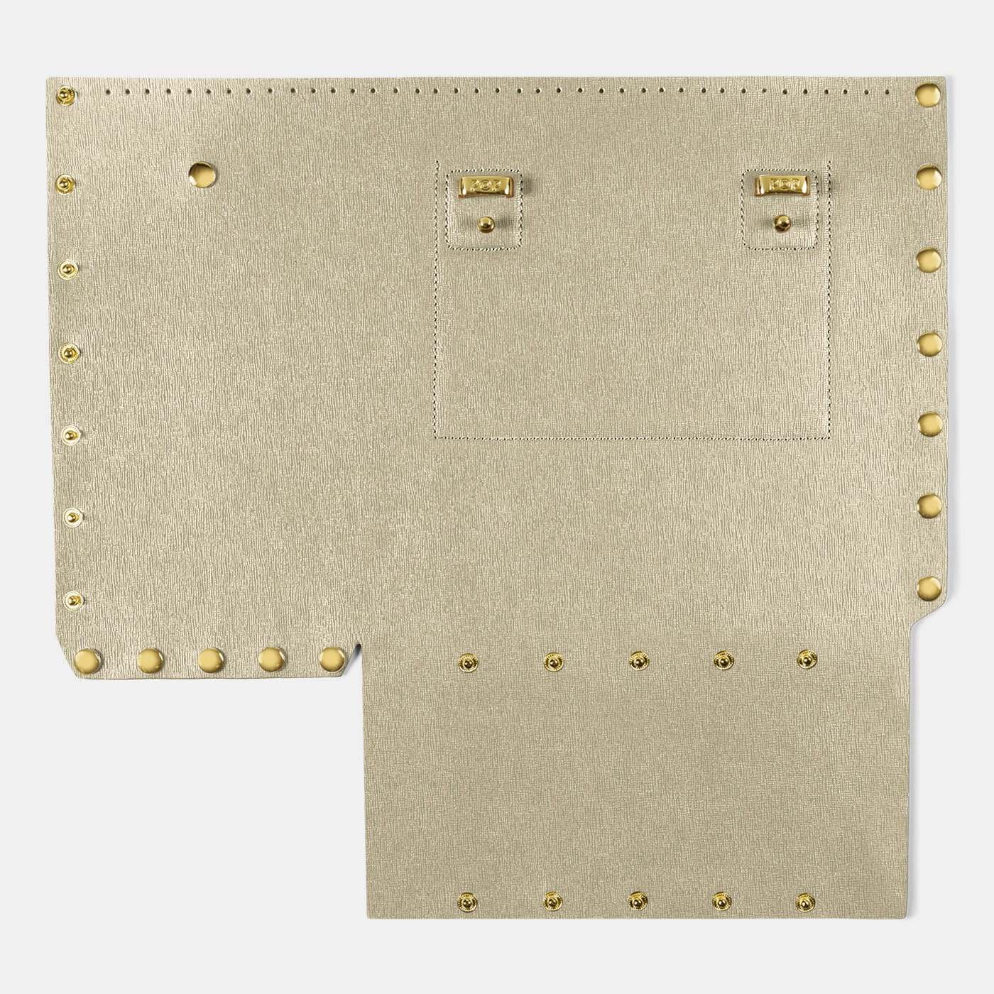 Pop Saffy Back Panel - Champagne - Large