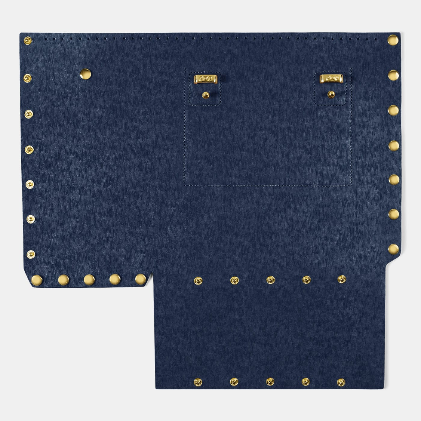 Pop Saffy Back Panel - Dark Blue - Large