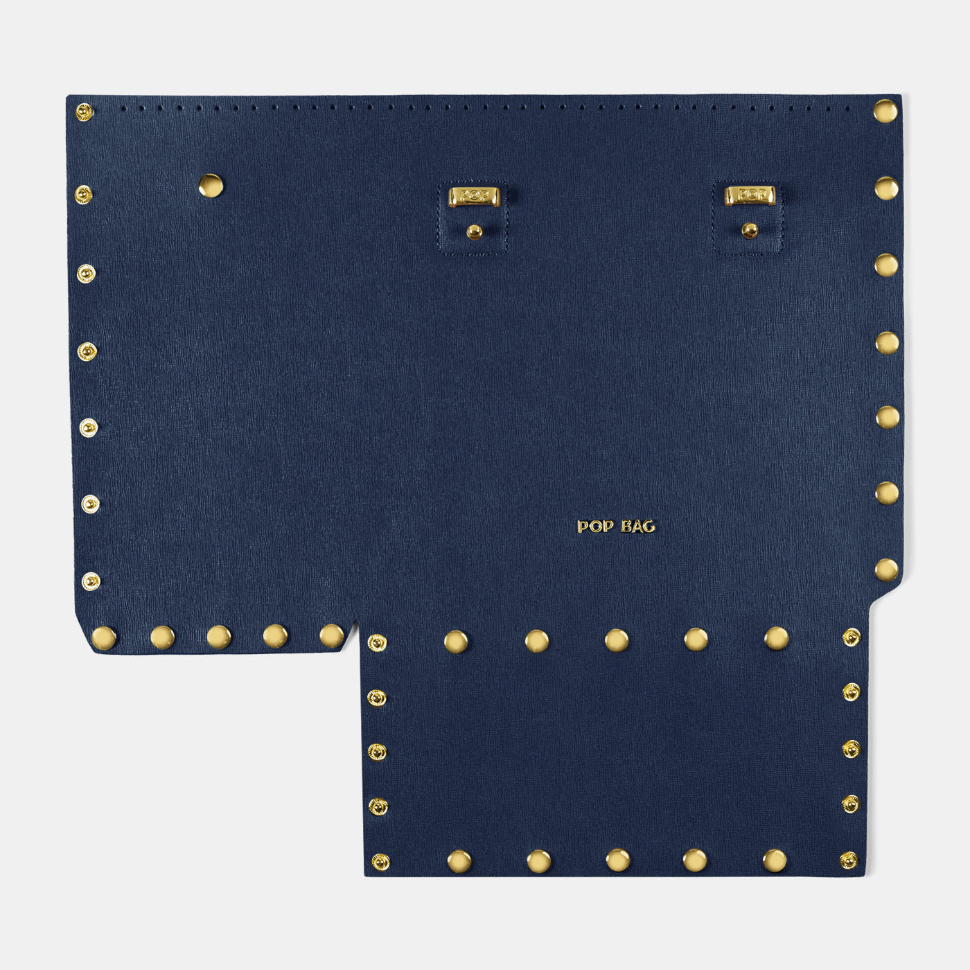 Pop Saffy Front Panel - Dark Blue - Medium