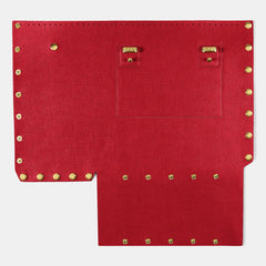 Pop Saffy Back Panel - Red - Large