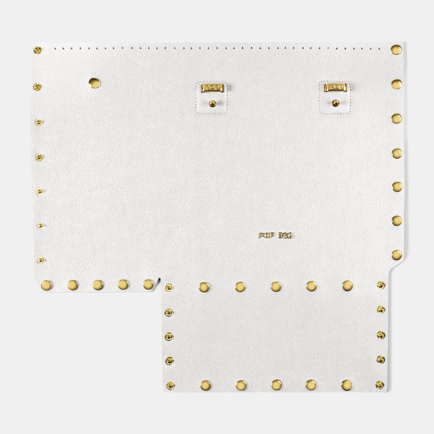Pop Saffy Front Panel - White - Medium
