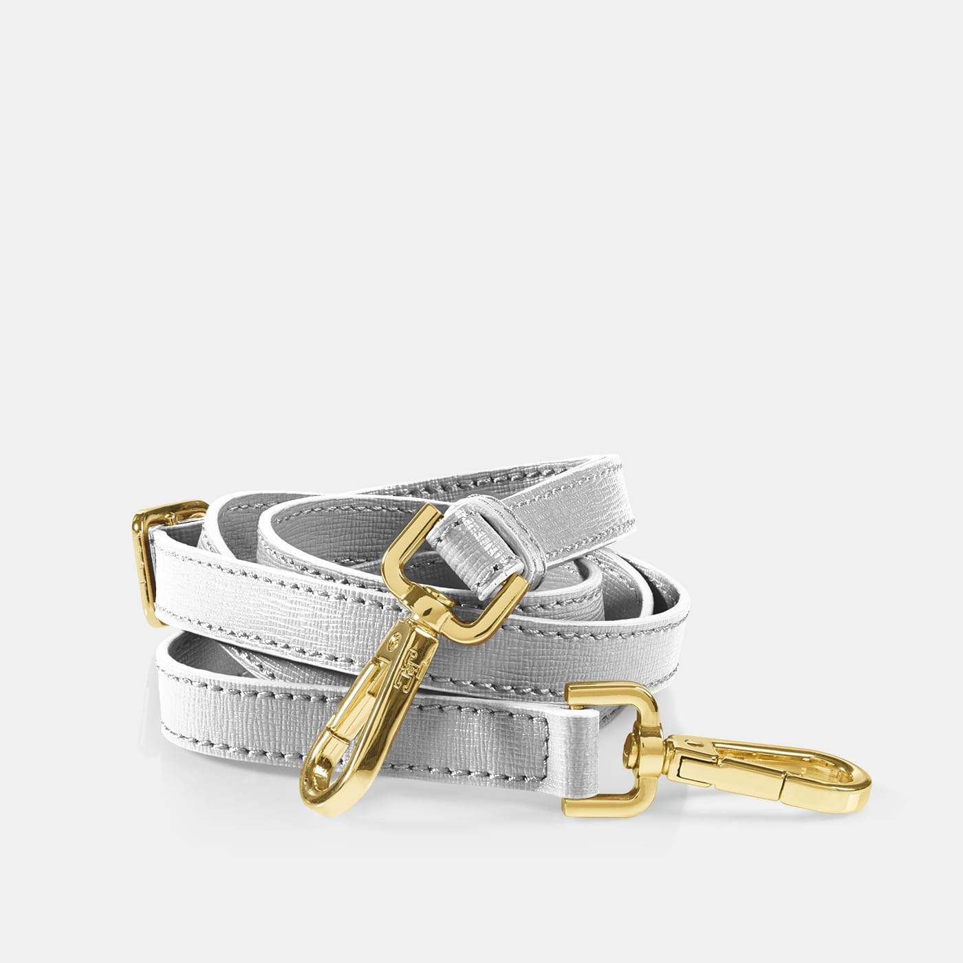 Pop Shoulder Strap - Silver Metal