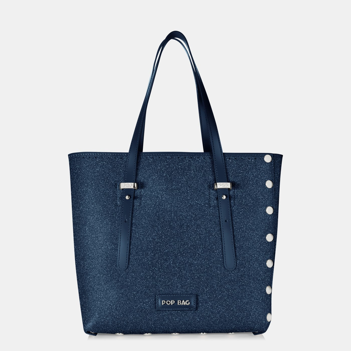 Pop Stardust Bag - Blue Glitter - Medium