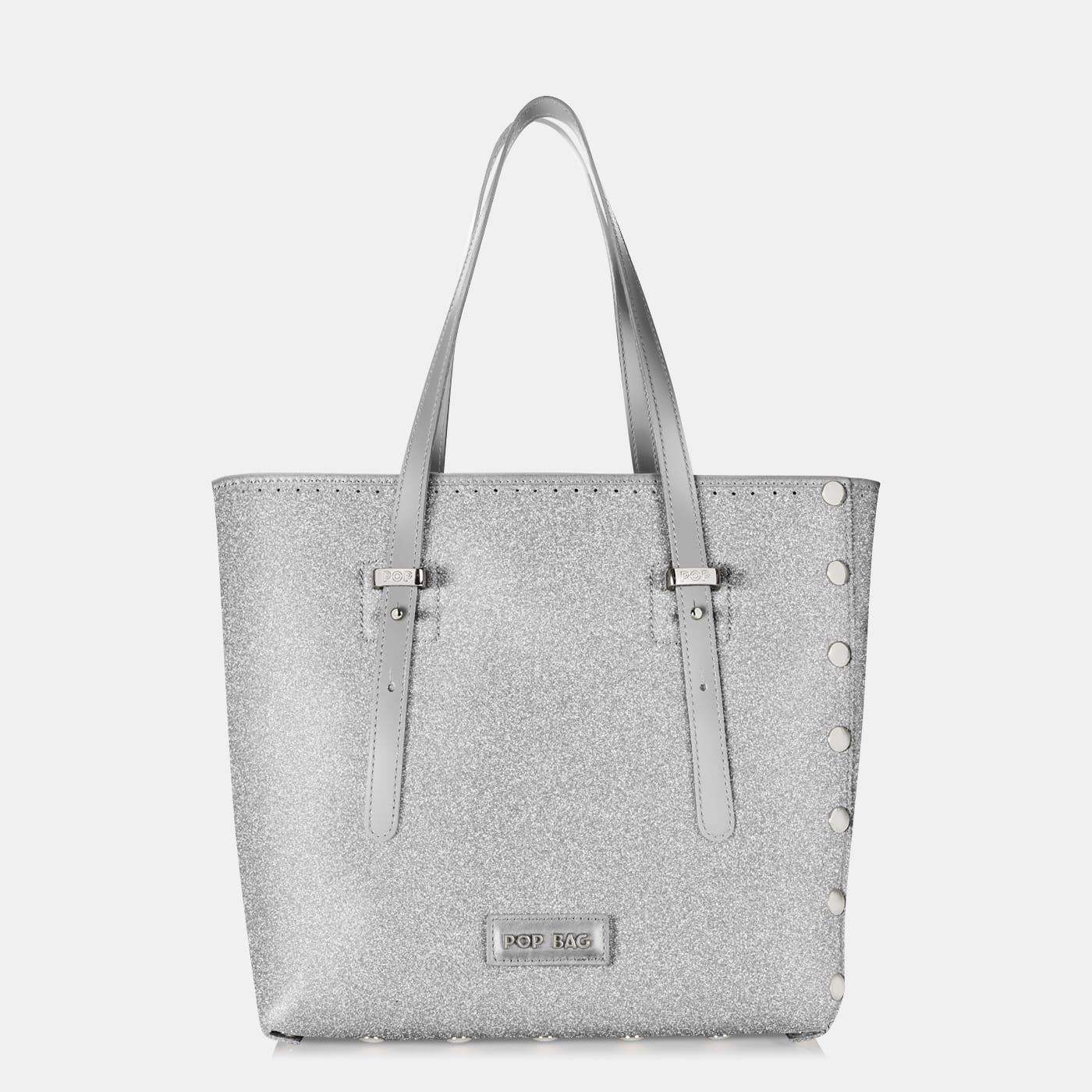 Pop Stardust Bag - Silver Glitter - Medium