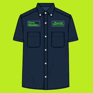 Crew Member Short Sleeve Button up (Men's Shirt)