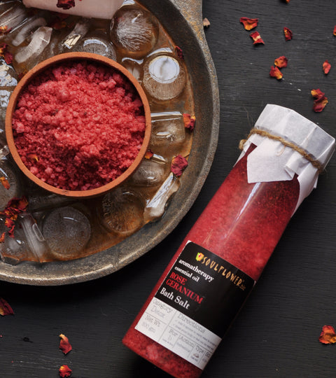 Rejuvenate yourself with Aromatherapy Bath salts