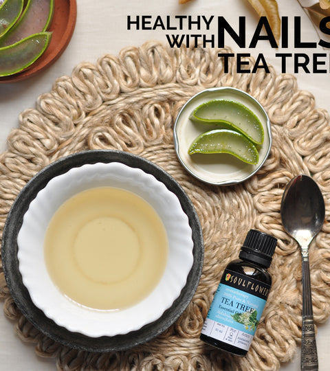 DIY: Healthy Nails with Tea Tree Essential Oil
