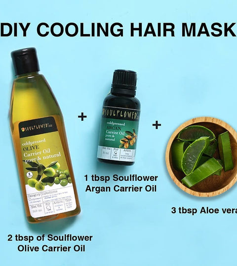 DIY Hair Cooling Mask