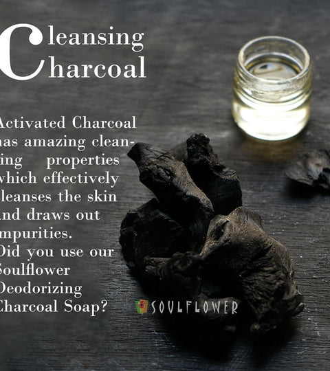 Cleansing Charcoal! | Soulflower