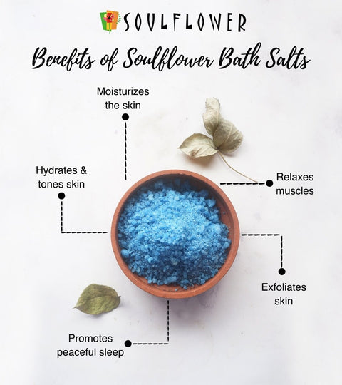 Did you know the benefits of using Soulflower Bath Salts? | Soulflower