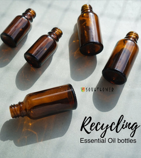 How do you reuse your empty Essential Oil bottles?  | Soulflower