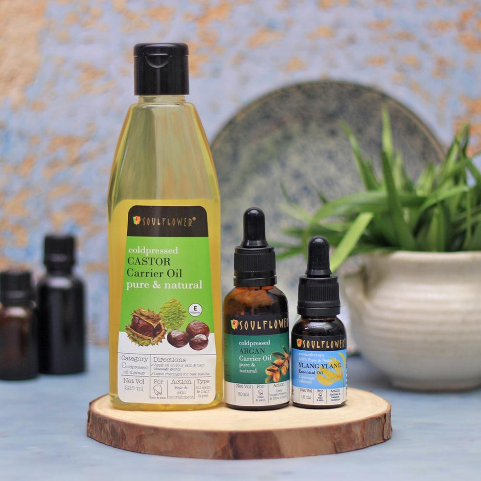 SOULFLOWER OIL CLEANSING MONTHLY REGIME FOR NORMAL SKIN