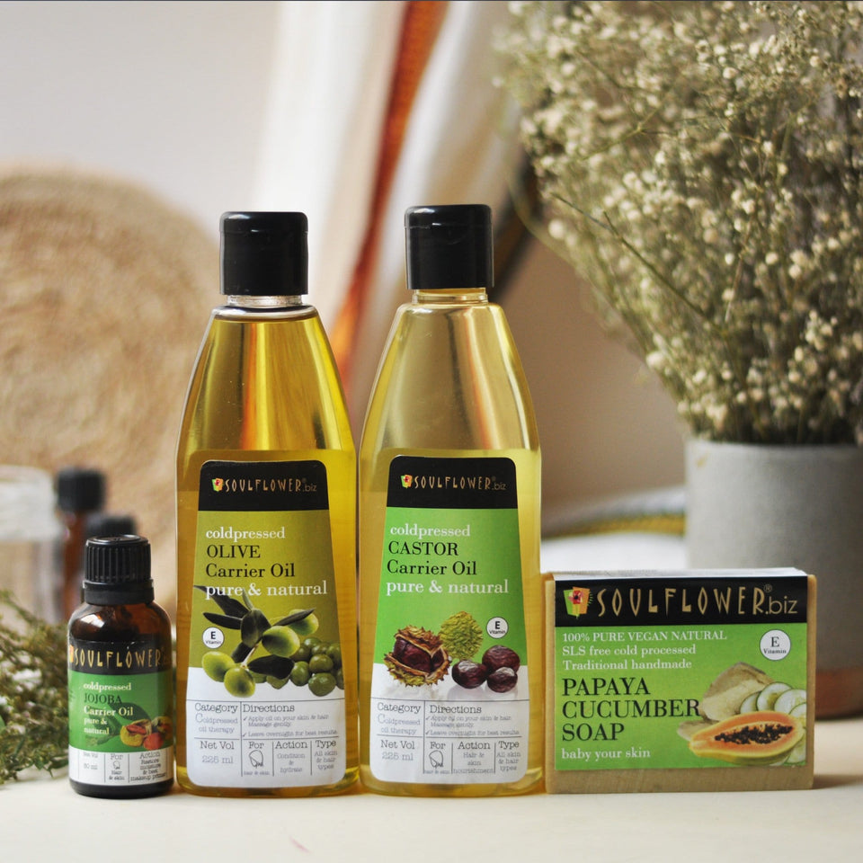 SOULFLOWER CLEAN BEAUTY REGIME