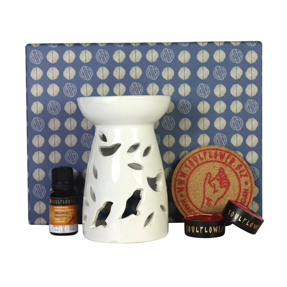 SOULFLOWER ORANGE AROMA FLOWER DIFFUSER