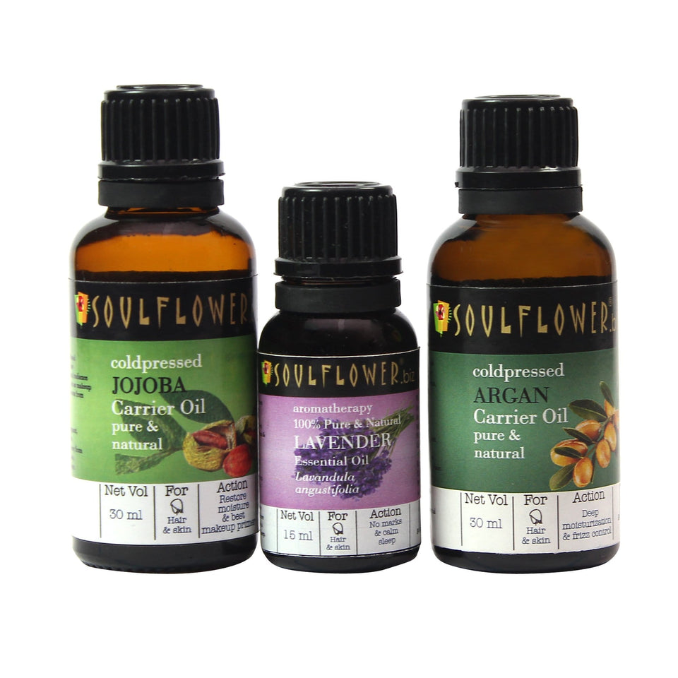 SOULFLOWER YEAR-ROUND BEAUTY CARE REGIME
