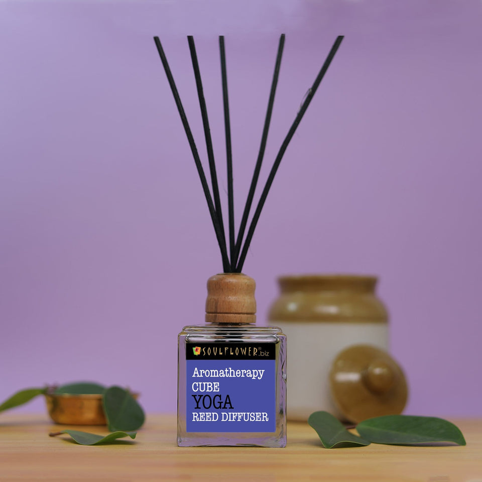 SOULFLOWER CUBE REED DIFFUSER- YOGA