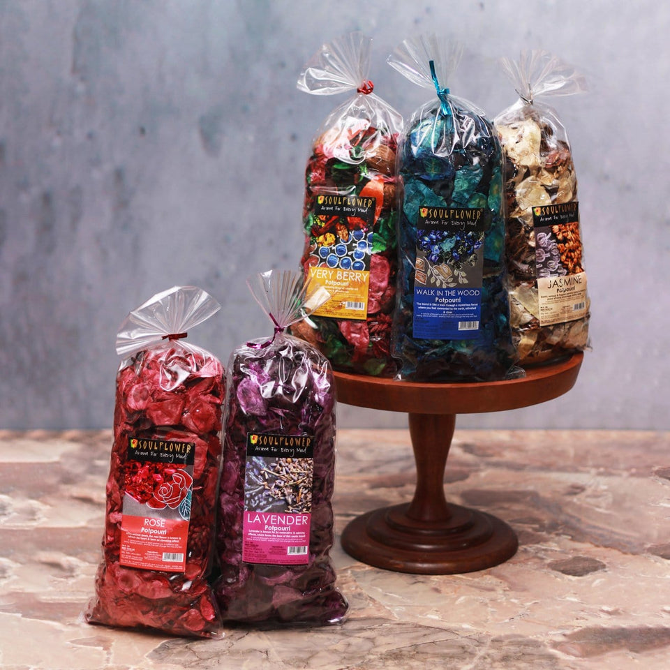 AROMA POTPOURRI SET OF 5 (90GM EACH)