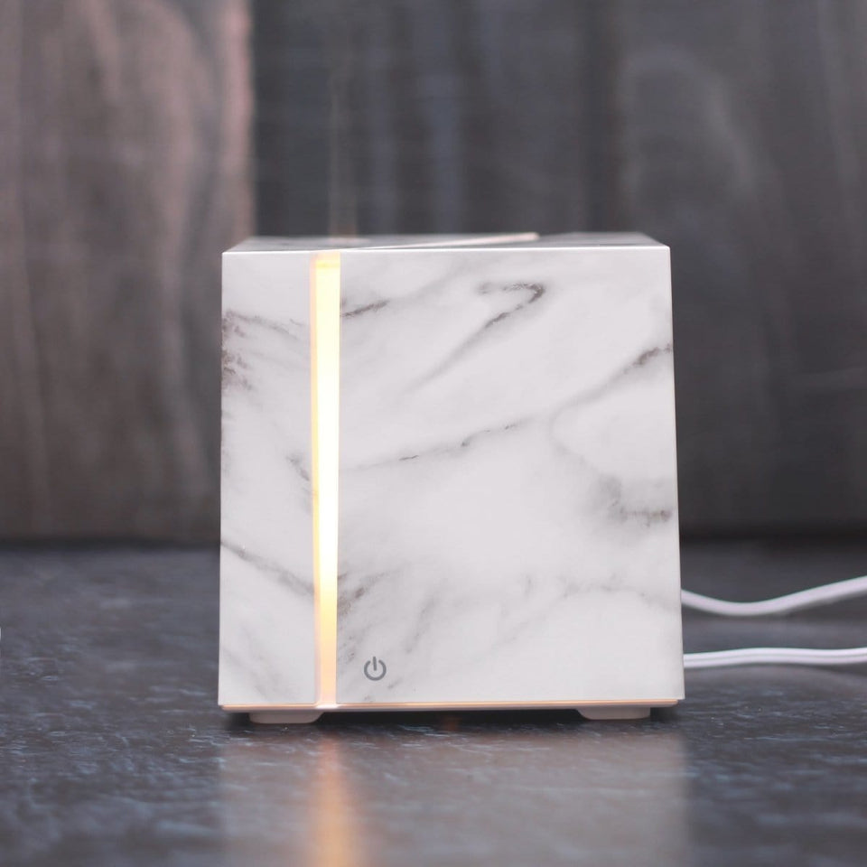 Soulflower Cube Mist Diffuser White - Soulflower