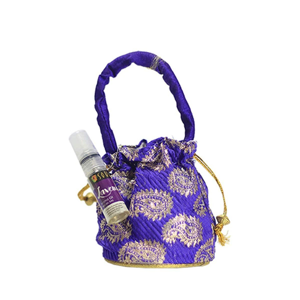 SOULFLOWER LAVENDER AROMA POUCH WITH BOTTLE - Soulflower