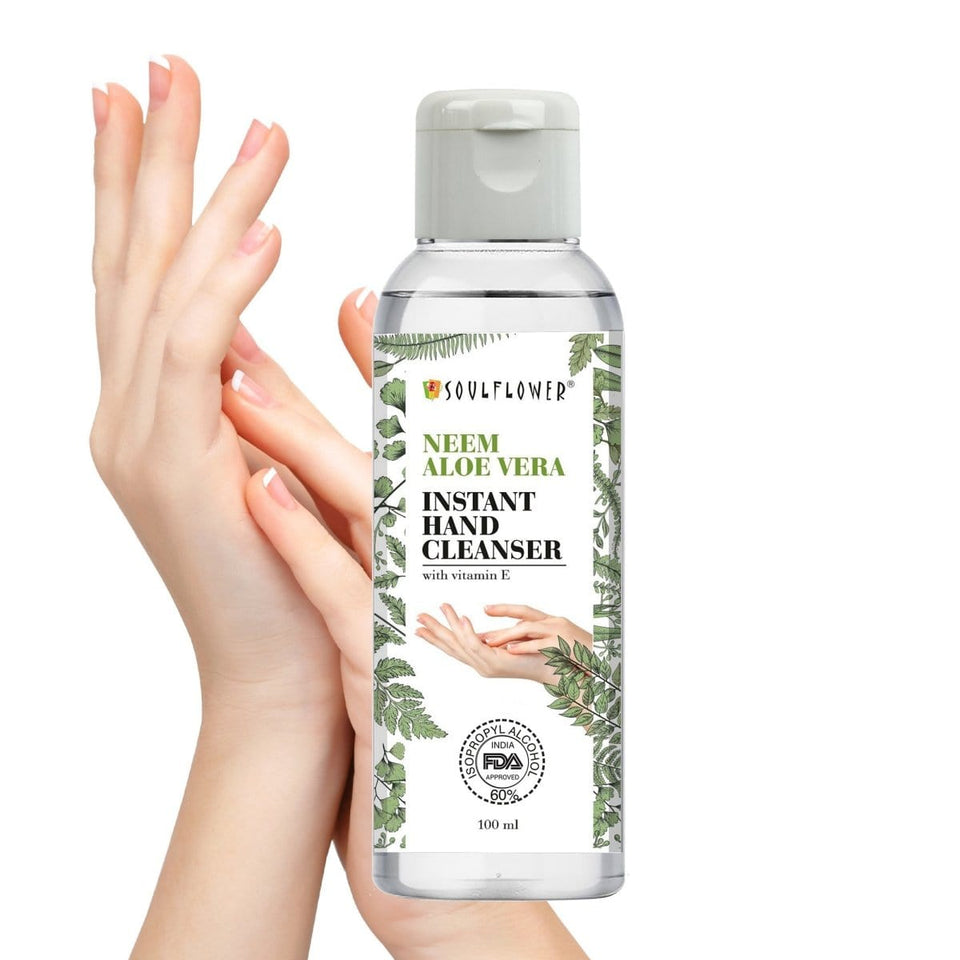 Best Neem Sanitizer with natural extracts in India