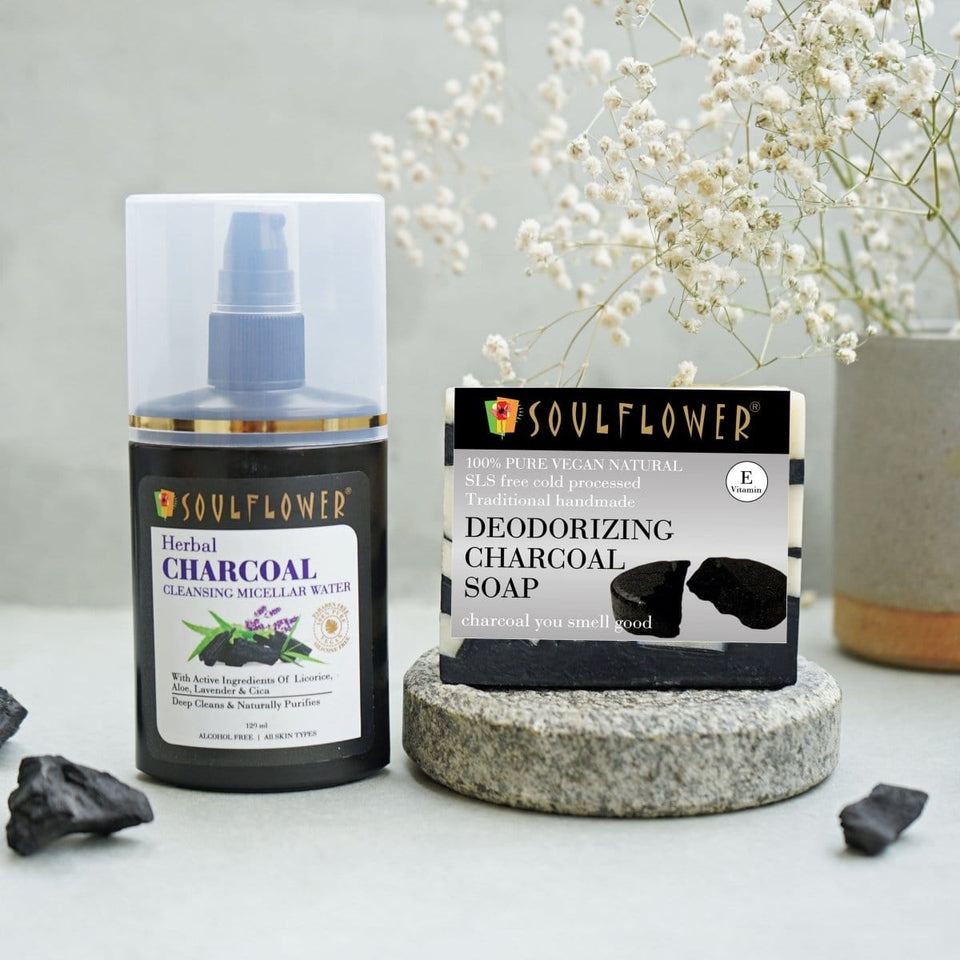 Soulflower Shivangi Joshi Anti-Acne Charcoal Regime - Soulflower