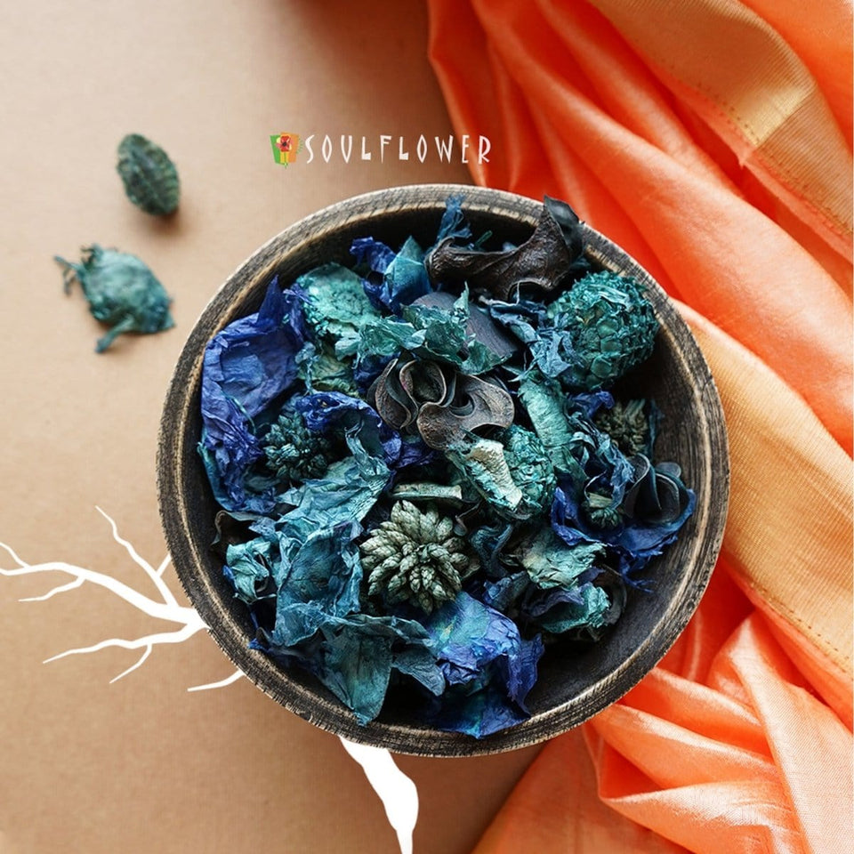 SOULFLOWER WALK IN THE WOODS POTPOURRI, 90GM