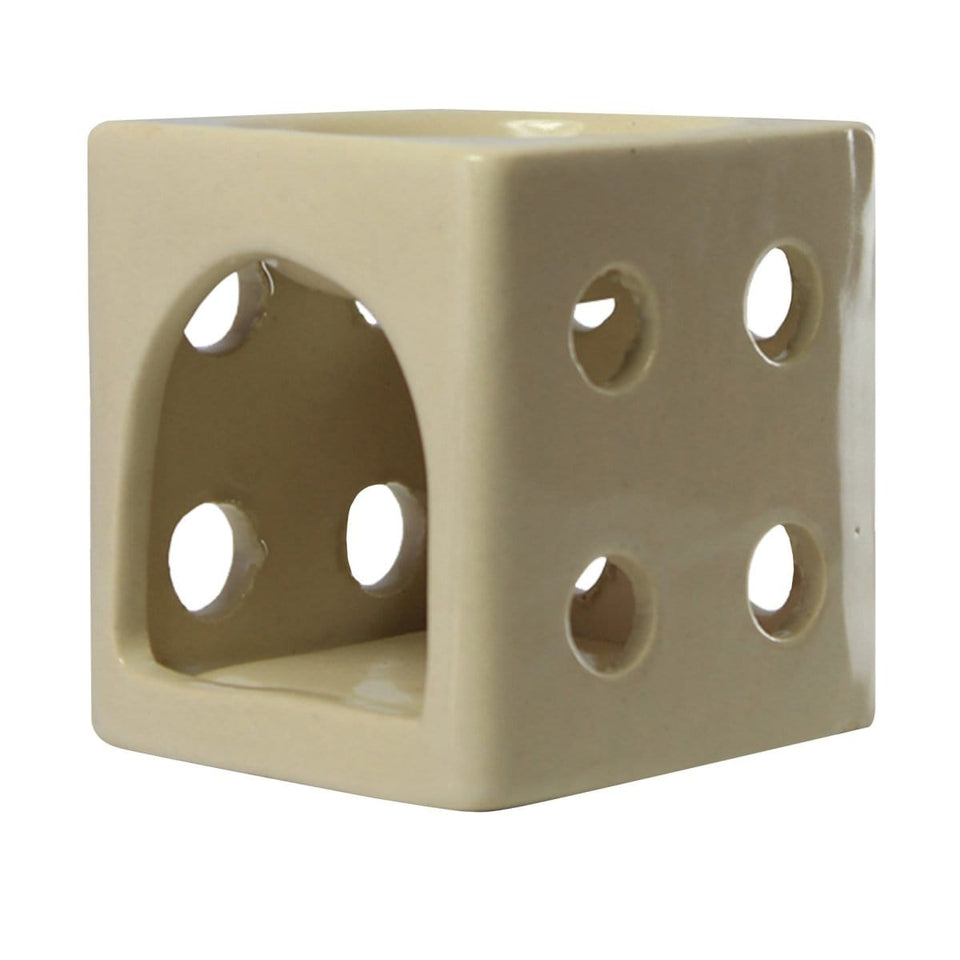 Soulflower White Dice Oil Burner
