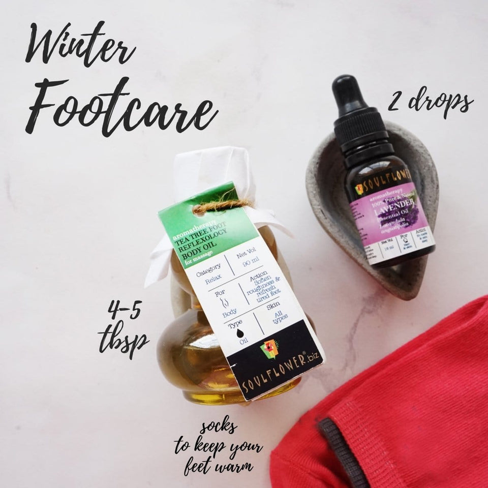 Soulflower Winter Footcare Monthly Regime