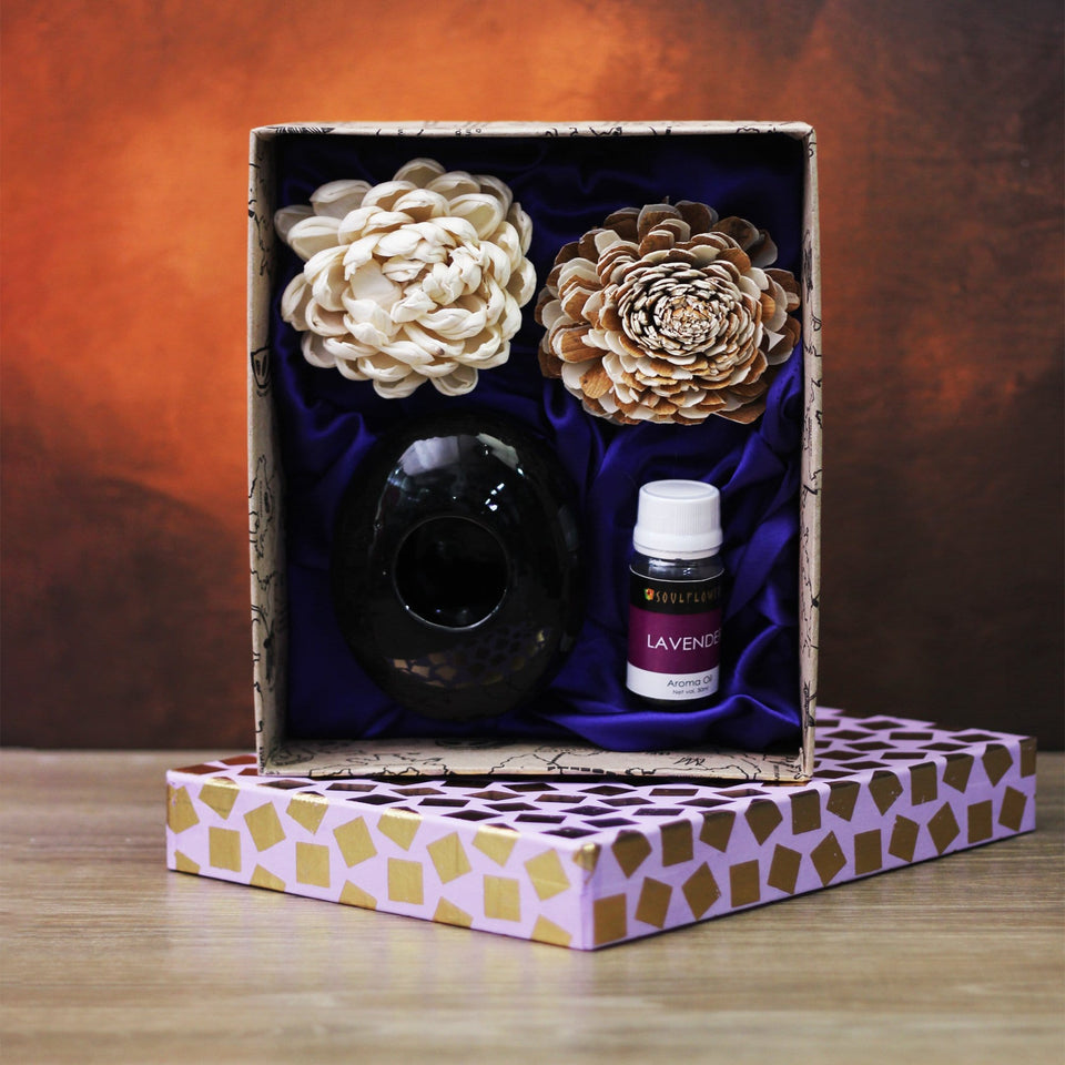 Soulflower Lavender Pebble Diffuser