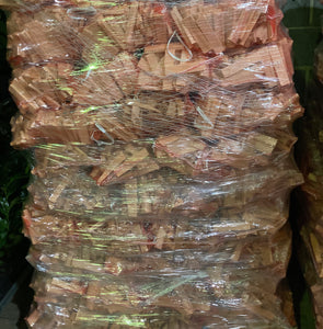 Bag of Kindling (1 kg Equavilent to One Large Carrier Bag) Free UK Shipping