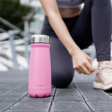 Everyday Bottle Peach Bands Fitness Stainless Steel Bottle Pink