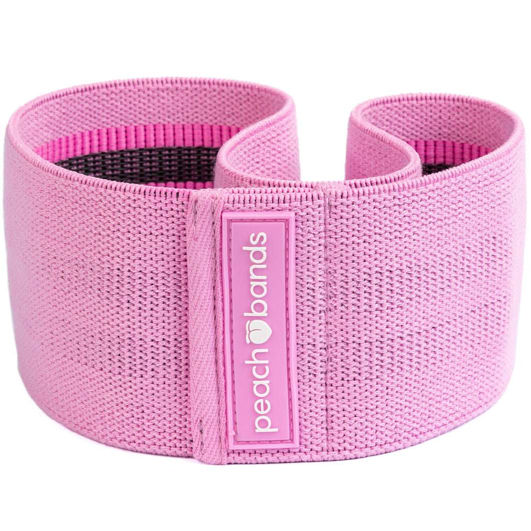 Hip Band-Peach Bands Fitness Fabric Resistance Band Glutes Booty Band Pink