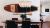 Paddle board storage rack