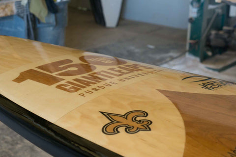 Custom paddle board