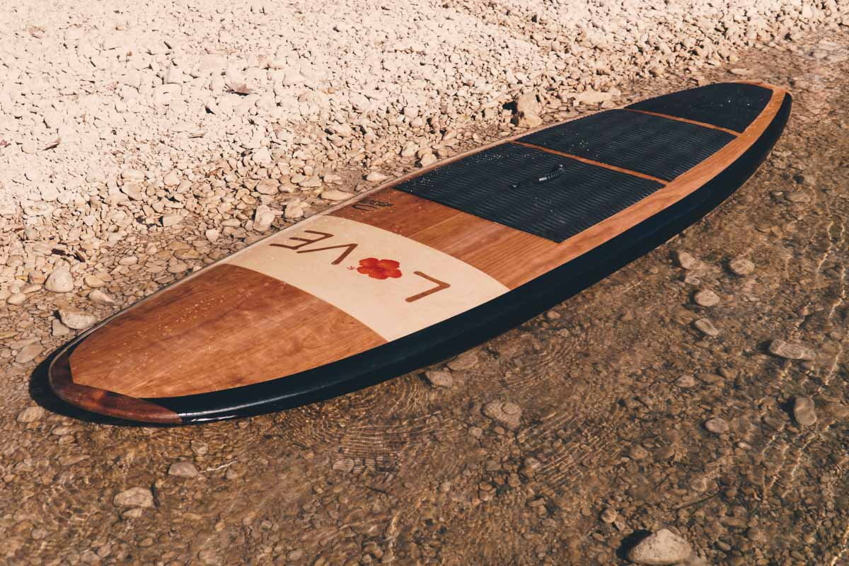 All around light weight paddle board