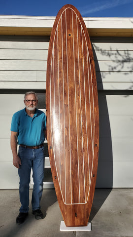 how to build a wooden paddle board