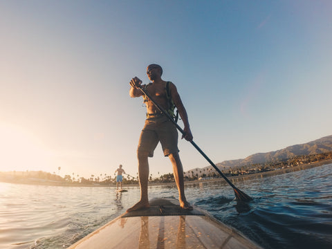 paddle boarding souther california