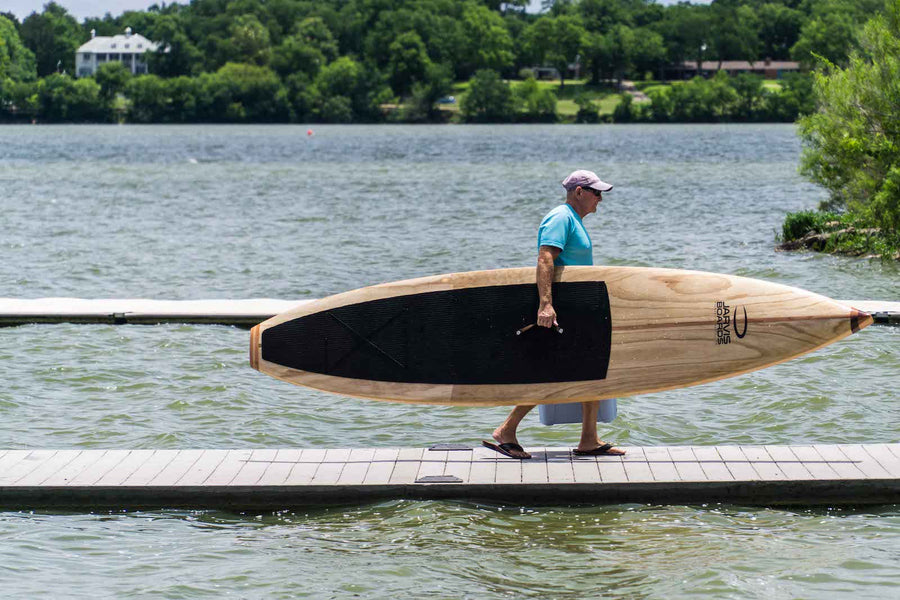 How to build a wood paddle board book