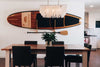 Paddle board storage wall mount