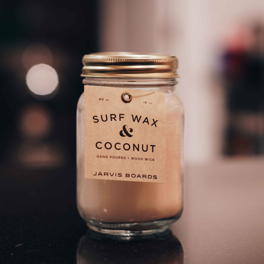 Jimbos x Jarvis - Surf Wax Candle