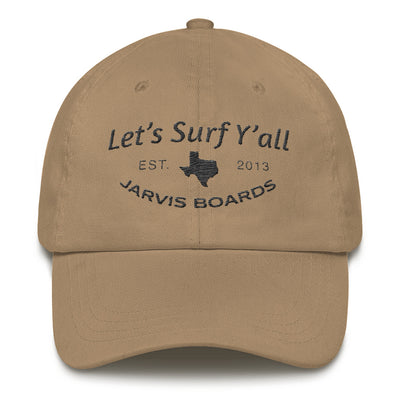 Let's Surf Y'all Dad Hat