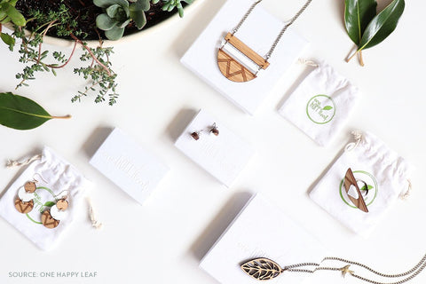 One Happy Leaf Eco-friendly Bamboo Jewelry - Connected Clothing Company Blog - 7 Eco-friendly Companies That Give Back To Our Planet