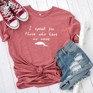 Be The Voice Whale Short-Sleeve Tee