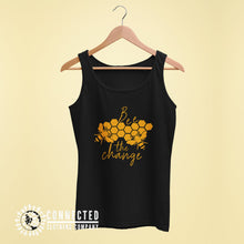 Load image into Gallery viewer, Black Bee The Change Women's Tank - Connected Clothing Company - 10% of profits donated to the Honeybee Conservancy
