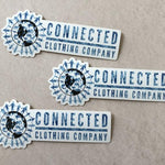 Connected Sticker 3-Pack - Connected Clothing Company - 10% of profits donated