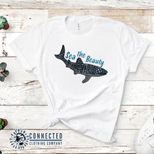 Load image into Gallery viewer, Sea The Beauty Short-Sleeve Tee - Connected Clothing Company - 10% of profits donated to ocean conservation